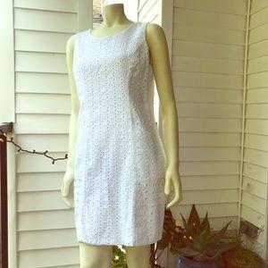 Cynthia Rowley white eyelet summer dress
